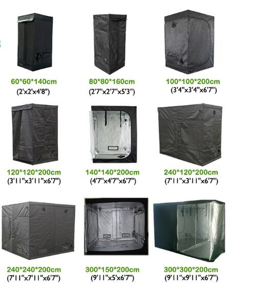 Wholesale Custom Size Plant Indoor Hydroponic Grow Tent