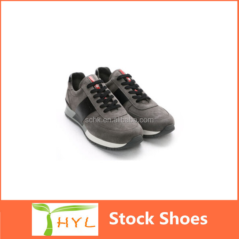 sport shoes stock lot men flat soles chea branded sports shoes in Guangzhou