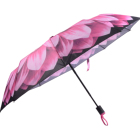promotion folding digital printing rose umbrella colors with small MOQ