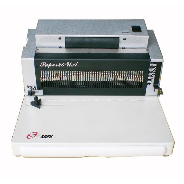 Heavy Duty Electric Coil Spiral Binding Machine