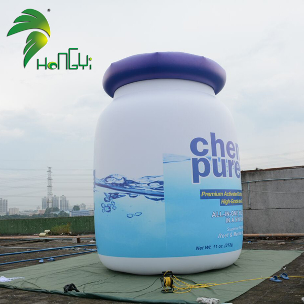 Giant Inflatable Bottle Factory Price Inflatable Nutella Jar Custom Made inflatable Can For Advertisement
