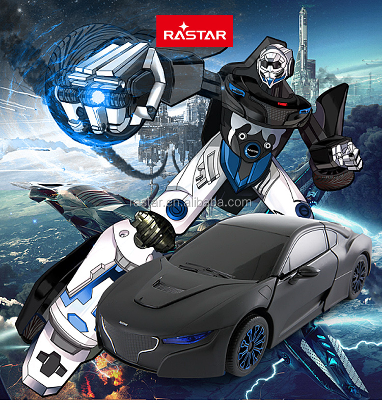 RASTAR best robot car gift wholesale RC car transform robot toy for kids
