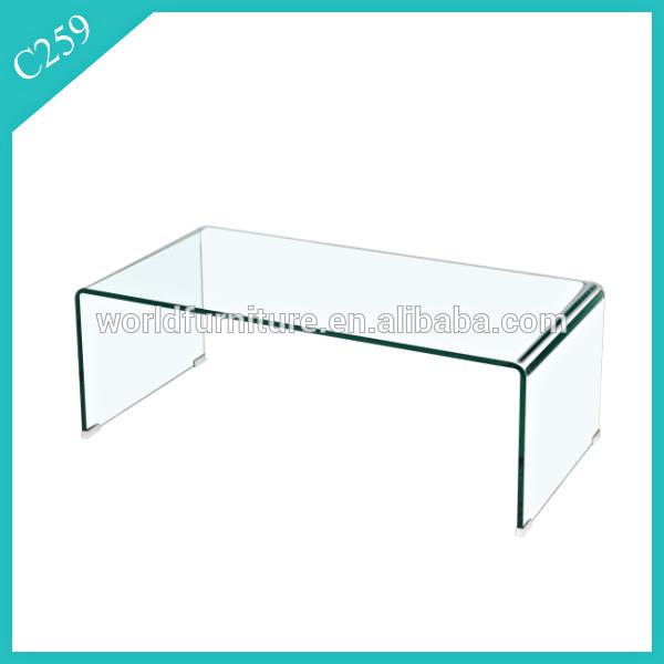 moderne geh rtetem hot gebogenes glas couchtisch kaffeetisch produkt id 60290359296 german. Black Bedroom Furniture Sets. Home Design Ideas