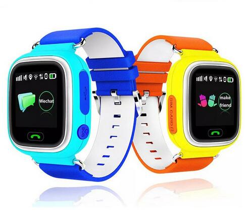 GSM sim kids gps tracking smart watch