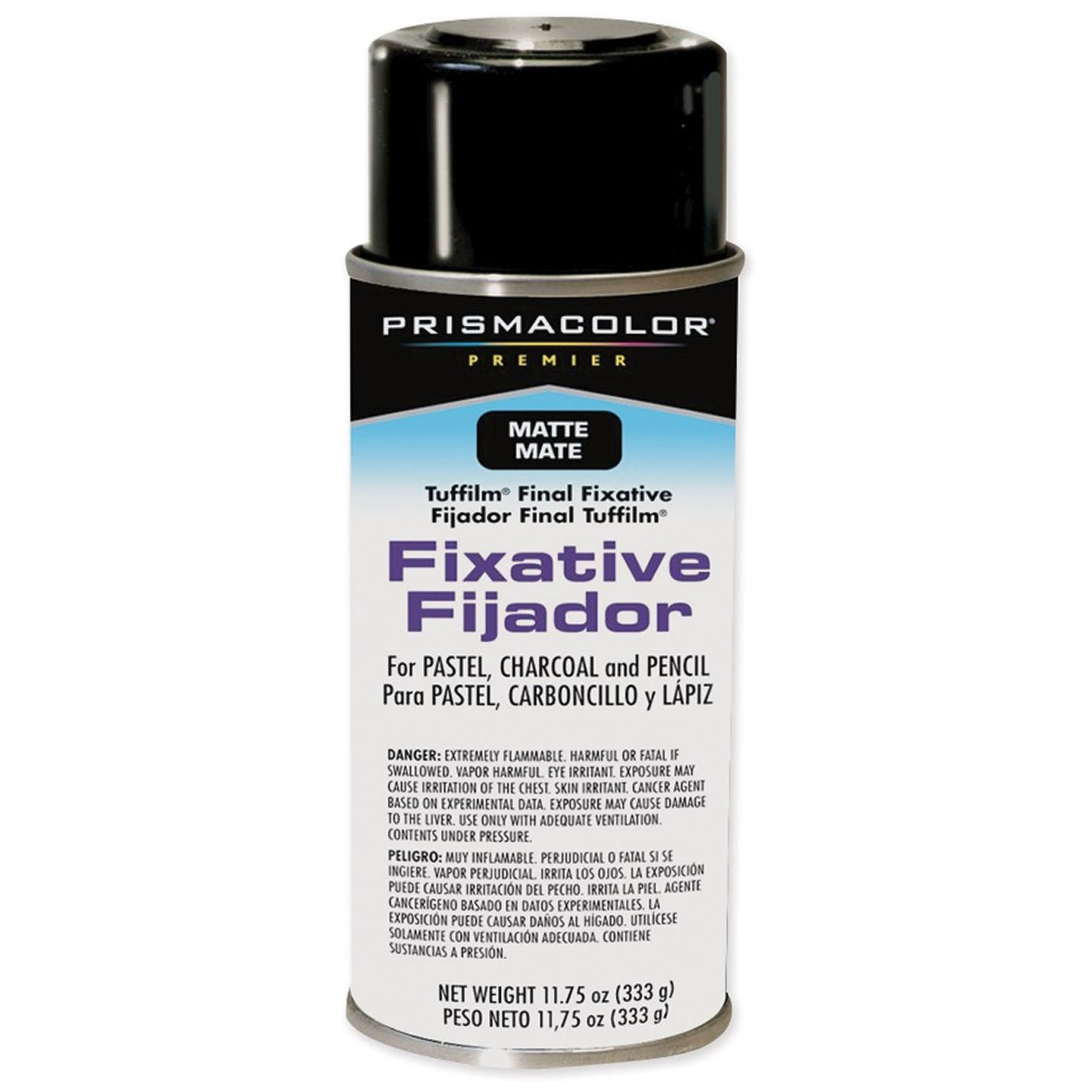 Prismacolor Premier Tuffilm Final Fixative Aerosol Spray-Matte 11.75oz