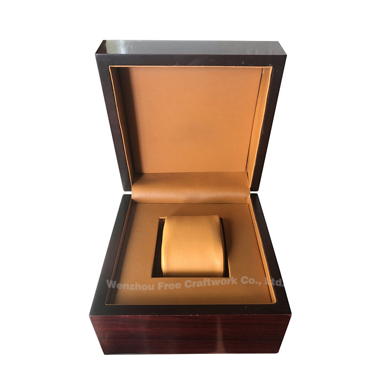 Design your own box!Custom elegant new 2019 trending product smart watch wood gift packaging box