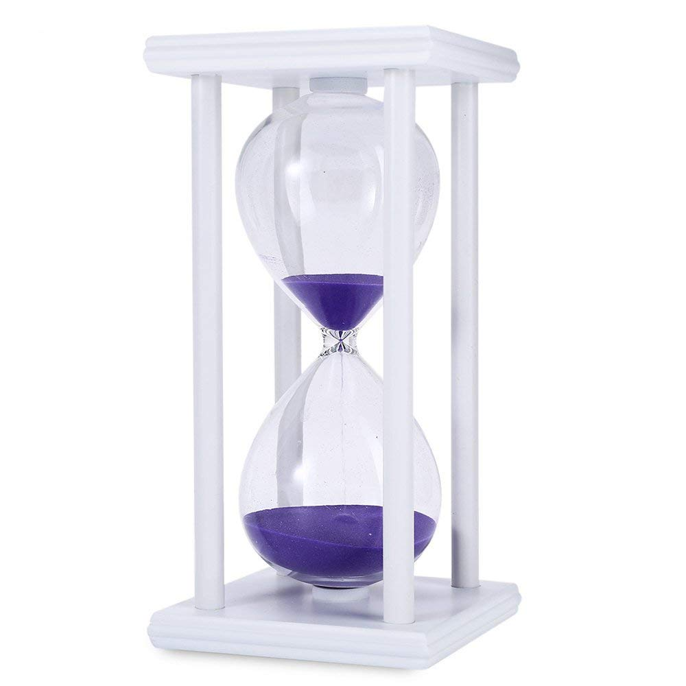 Get Quotations · 45 Minutes Hourglass,HiGift Sand Timer Romantic Mantel  Office Desk Coffee Table Book Shelf Curio