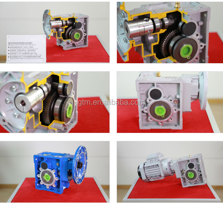Helical & Hypoid Bevel Gear Reducer Motor  BKM series