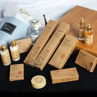 Hotel Brand OEM disposable hotel bathroom amenity series ,bathroom amenities for five star Hotel