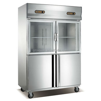 Restaurant Kitchen Refrigerator commercial refrigerator showcase/air cooling refrigerator&freezer