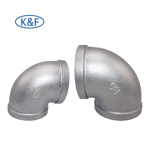 banded malleable iron elbow threaded all kinds of pipes and fittings 90 degree elbow galvanize iron fittings