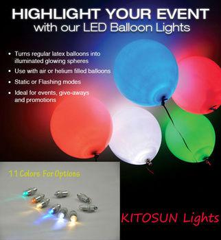 Party Decoration Flashing Led Balloon Light,Led Balloon,Light Up ...