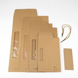 New Style Standard Size Multiply Kraft Paper Bag