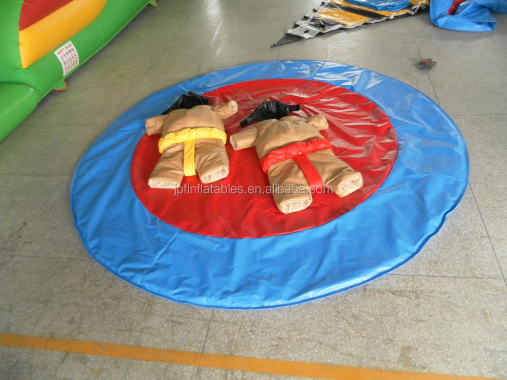 kids customized inflatable sumo suits for wrestling game for sale
