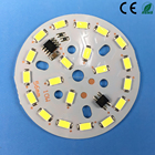 56mm 10 w Ronde 220 V Conducteur Led Remplacement carte de Circuit imprimé