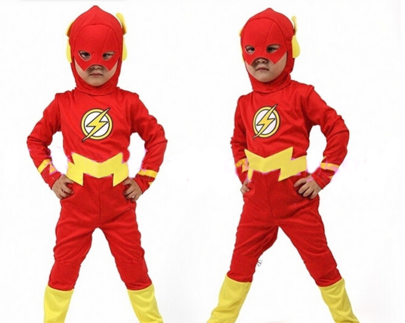 Buy Kids Flash Cosplay Justice League DC Comics The Flash Red and yellow metal fabric The Flash superhero costumes FREE SHIPPING in Cheap Price on ...  sc 1 st  Alibaba & Buy Kids Flash Cosplay Justice League DC Comics The Flash Red and ...