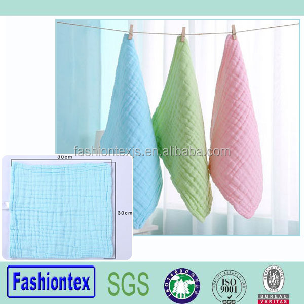 Wholesales hand towel for baby muslin bath towel infant printing wash cloth