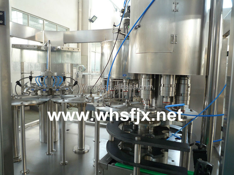 Hot cold drink beverage/soda/water filling machine/plant prices