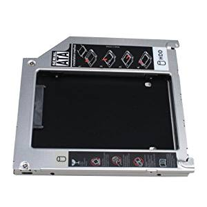 """Replacement Hard Drive Caddy Tray for All Apple MacBook / MacBook Pro 13"""" 15"""" 17"""" 2.5""""/9.5mm SATA HDD or SSD"""