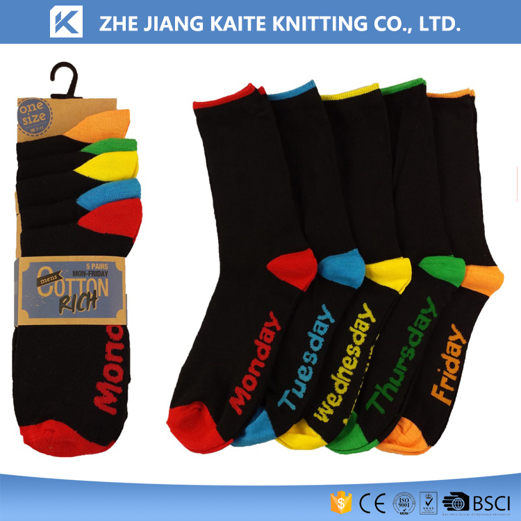 KTP-2762 days of the week socks