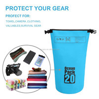 Kongbo Outdoor foldable ocean pack dry bag waterproof for camping