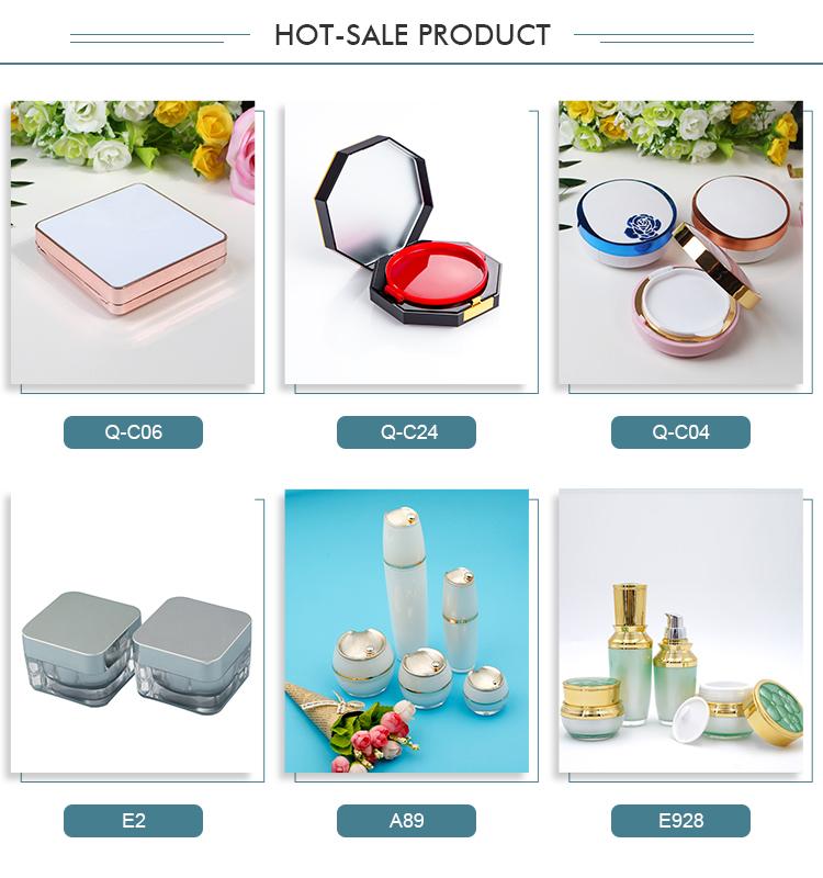 गर्म नए उत्पादों hight गुणवत्ता 4 रंग मेकअप एबीएस आँख छाया मामले