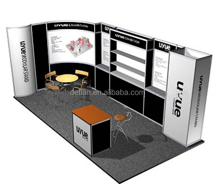 Simple Advertising Trade Show Display Rack For Exhibition