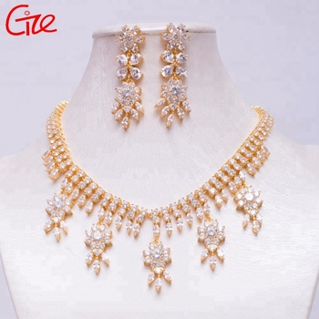 arab brazilian costume Jewelry Factory wedding Necklace Set luxury women Jewelry Set