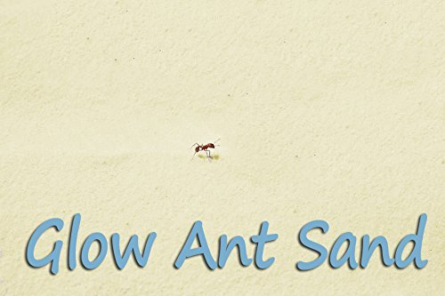 Ant Farm Refill Ant Sand: Glow-in-Dark, 2 1-pound Bags