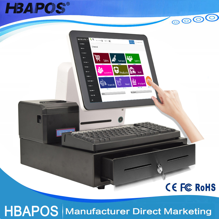 Retail 15'' All in one Touch Screen POS System POS Solution India POS Machine
