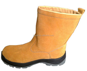 Working Industrial Safety Boots steel toe Safety Footwear Steel Toe Insert Safety Boots
