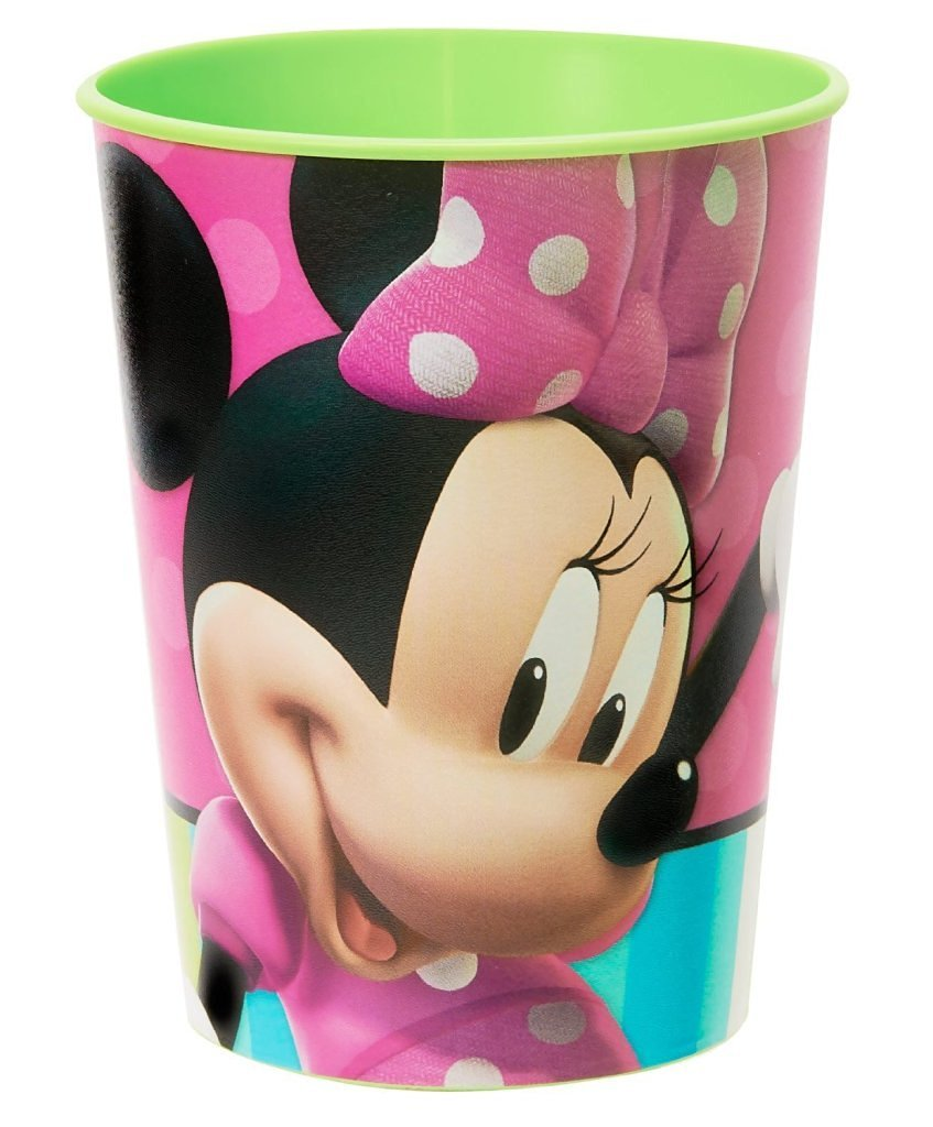 Toy / Game Hallmark Disney Minnie Mouse Bow-Tique 16 Oz. Plastic Cup Party Accessory (3.8 X 3.8 X 4.5 Inches)