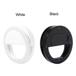 Battery custom private label phone led selfie ring light