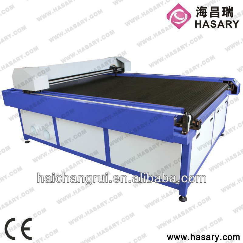 Hot lowest price 2013 of popular co2 cutting machine with high accuracy fabric inspection machine