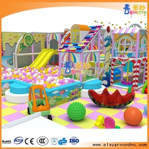 Family entertainment center equipment kids play house