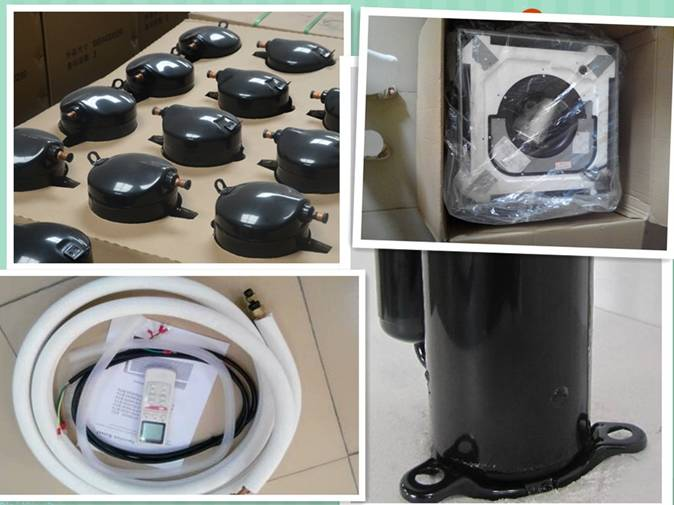 Ceilling Mounted Fan Coil Unit Cooling And Heating