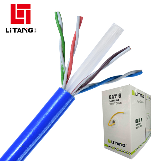 factory lan cable braided ethernet cable utp ftp sftp cat6 copper