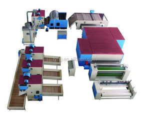 ZCM-1000 Nonwoven Needle Punching Carpet Manufacturing Machinery