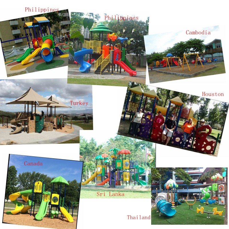 Funny educational equipment airplane playground equipment