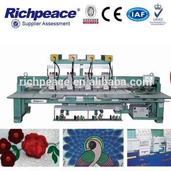 Richpeace computerized chenille chainstitch embroidery machine