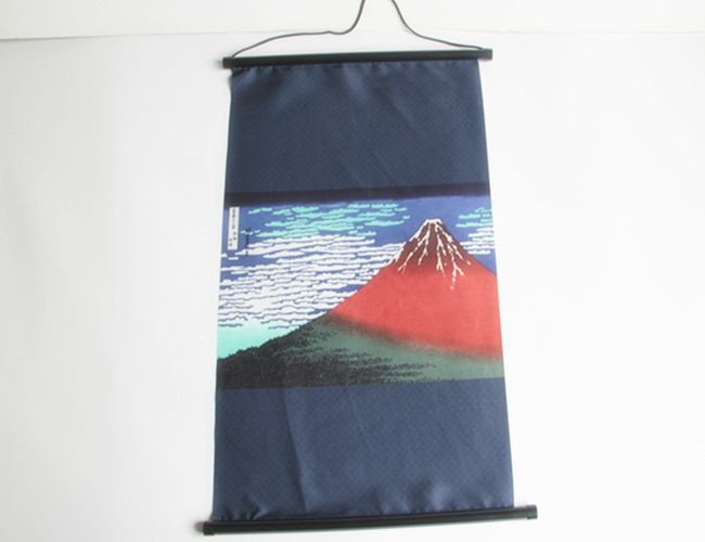 Factory Outlets Promotional Custom Newest Printed Japanese Hanging Scroll
