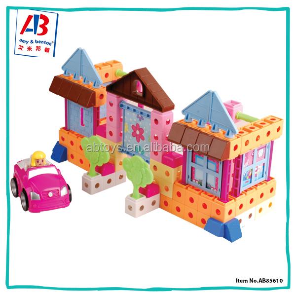 Outdoor Construction Toys : Çok renkli toddler eğitici oyuncaklar açık yapı taşları