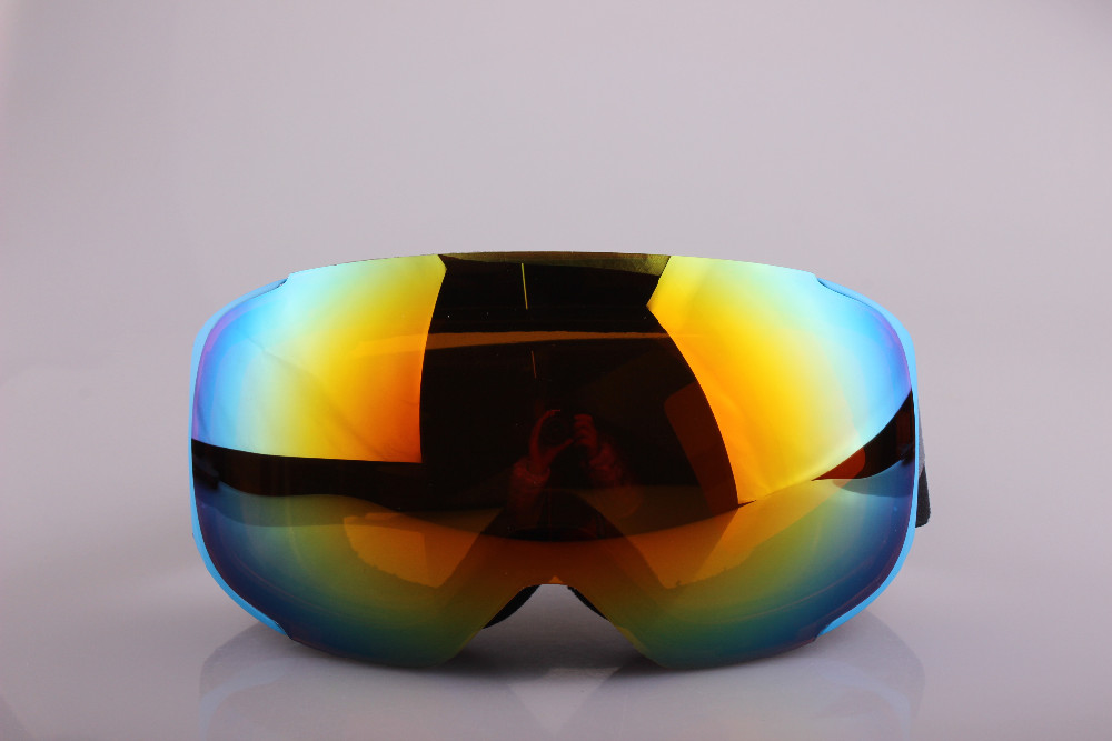 2016 Custom High Reflect Magnet Style Ski Goggles snowboard google with quickly delivery time