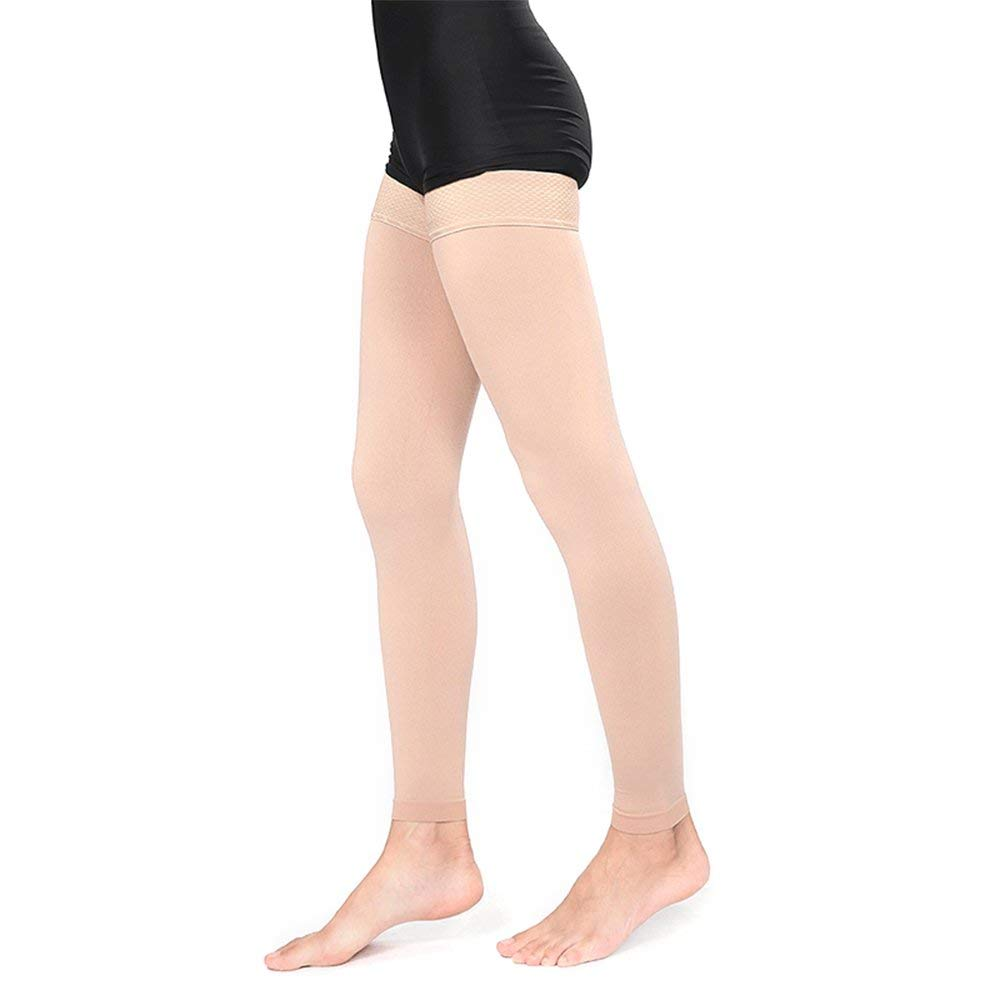 ef59f68c620 Get Quotations · SWOLF Medical Thigh High Compression Stockings