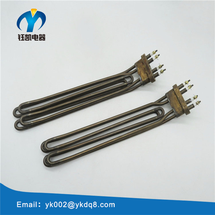 U shape electric tubular heating element for toaster oven