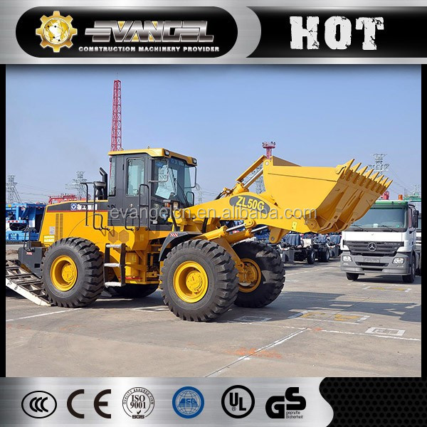 China Lowest Price Brand New XCMG ZL50G WHEEL LOADER widly used