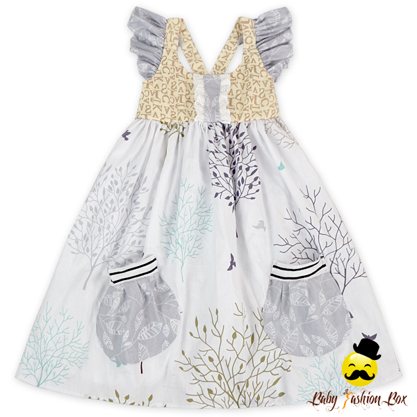 48BQA201 Yihong Newborn Baby Clothing baby girl summer dress Little Girls Summer Clothes Flutter Sleeve Children Dresses