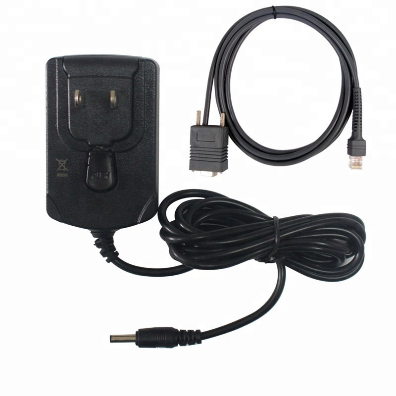 6FT RS232 Serial AC Power <strong>Adapter</strong> for Symbol LS2208