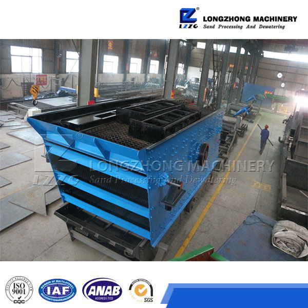 multi layers Vibrating Screen, YA Series circular vibration screen