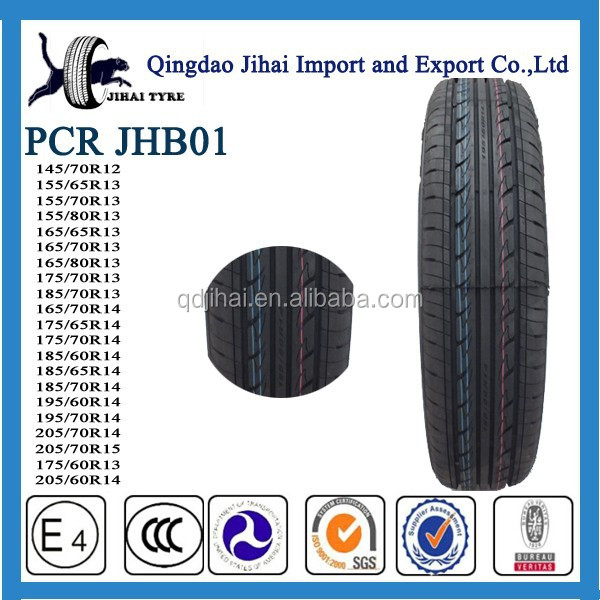 best Chinese brand car tyres ,PCR tyre 195 / 70R14 with certificate DOT ECE ISO